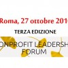 Nonprofit Leadership Forum..e siamo a 3!