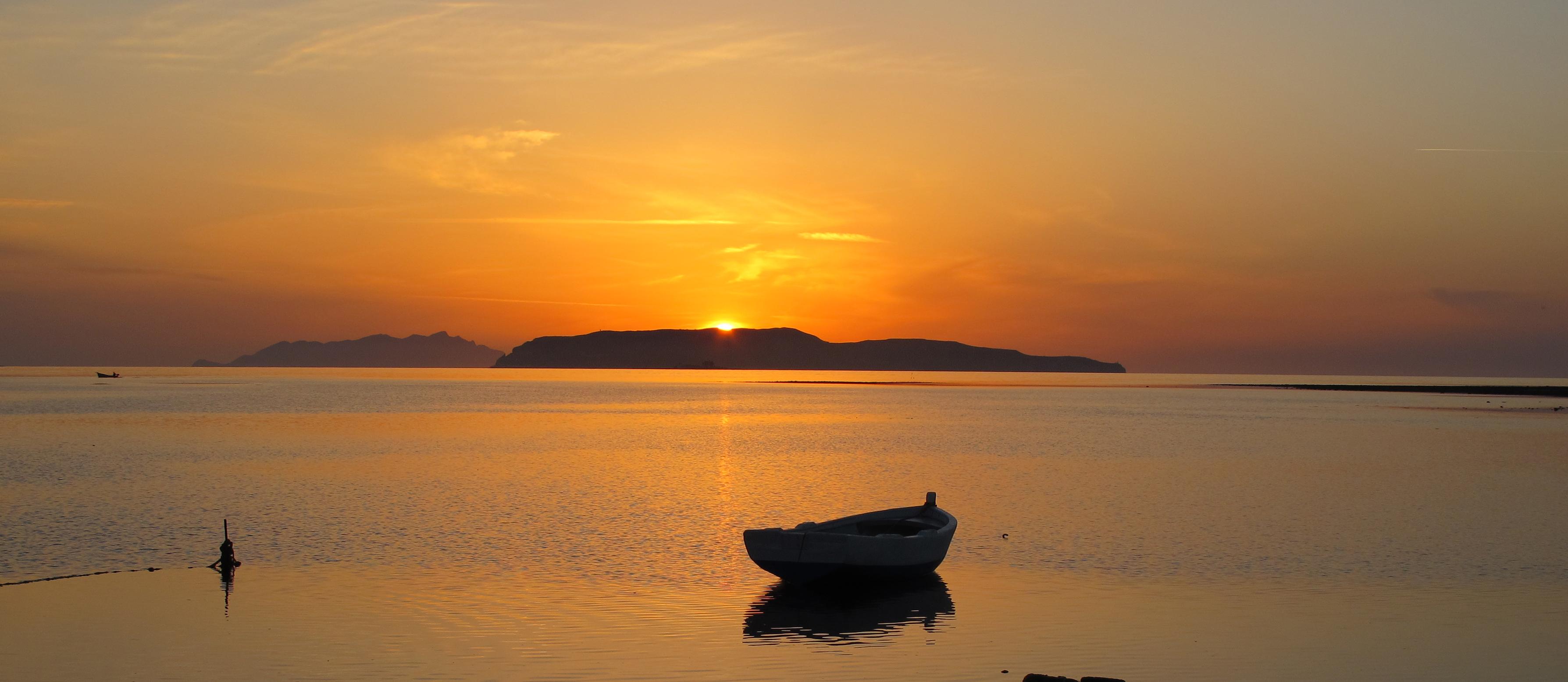 Barca_al_Tramonto